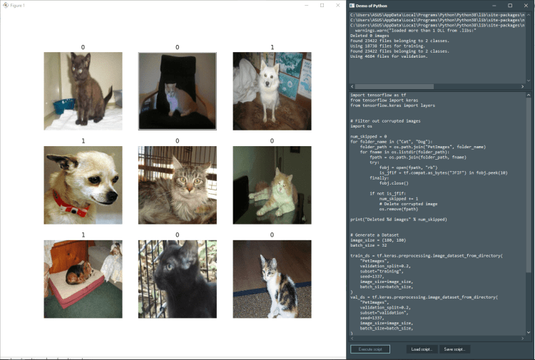 machine learning with keras demo