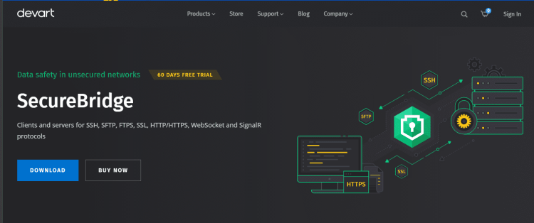 Devart SecureBridge websockets for Delphi