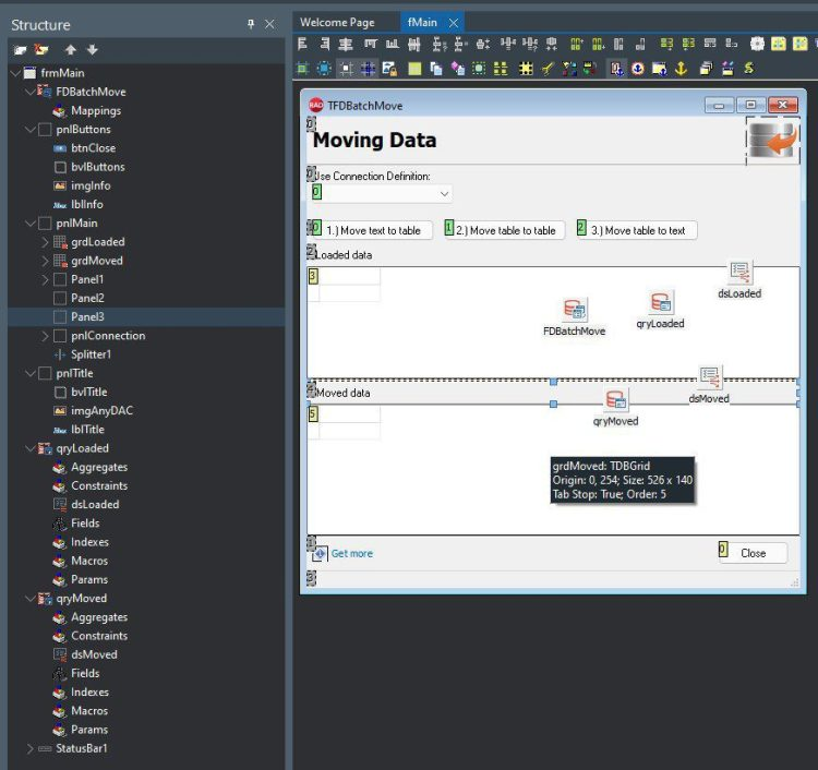 This Is How To Easily Process CSV Data Using FireDAC - demo app