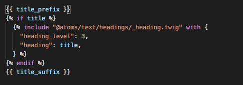 Heading atom integrated with Page Title