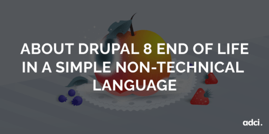 About Drupal 8 End of Life in a simple non-technical language