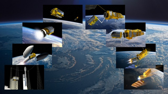 e.Deorbit will be the first-ever active debris removal mission Credits: ESA–David Ducros, Jacky Huart, 2016