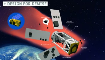 Designing to reduce the proliferation of space debris at the end of life