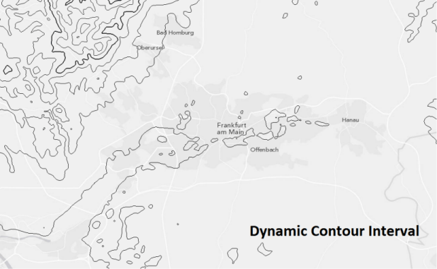 Generate contours dynamically with a new raster function!