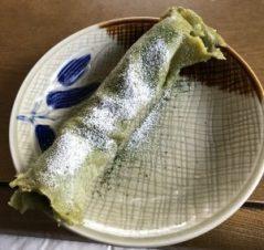 Matcha crepe