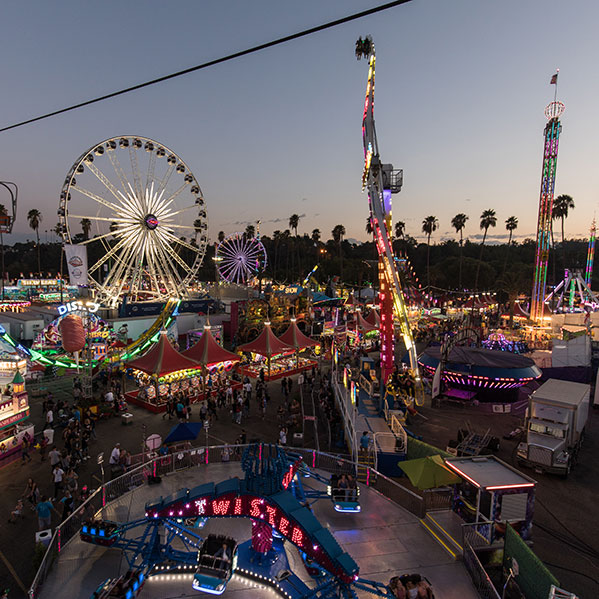 Carnival at LA County Fair