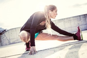 Alongamento dinâmico protege músculo em corridas de Sprint