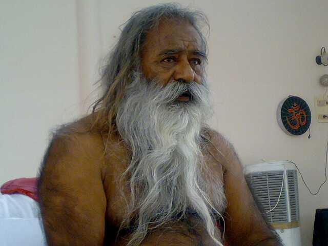 """Most revered Swami Adgadanand Paramhans"""