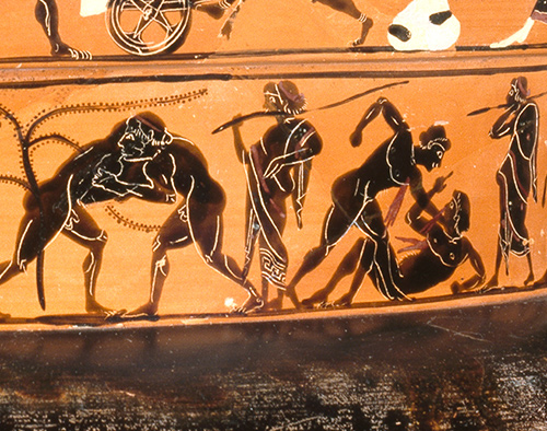 Image result for Ancient Greek athletic competitions