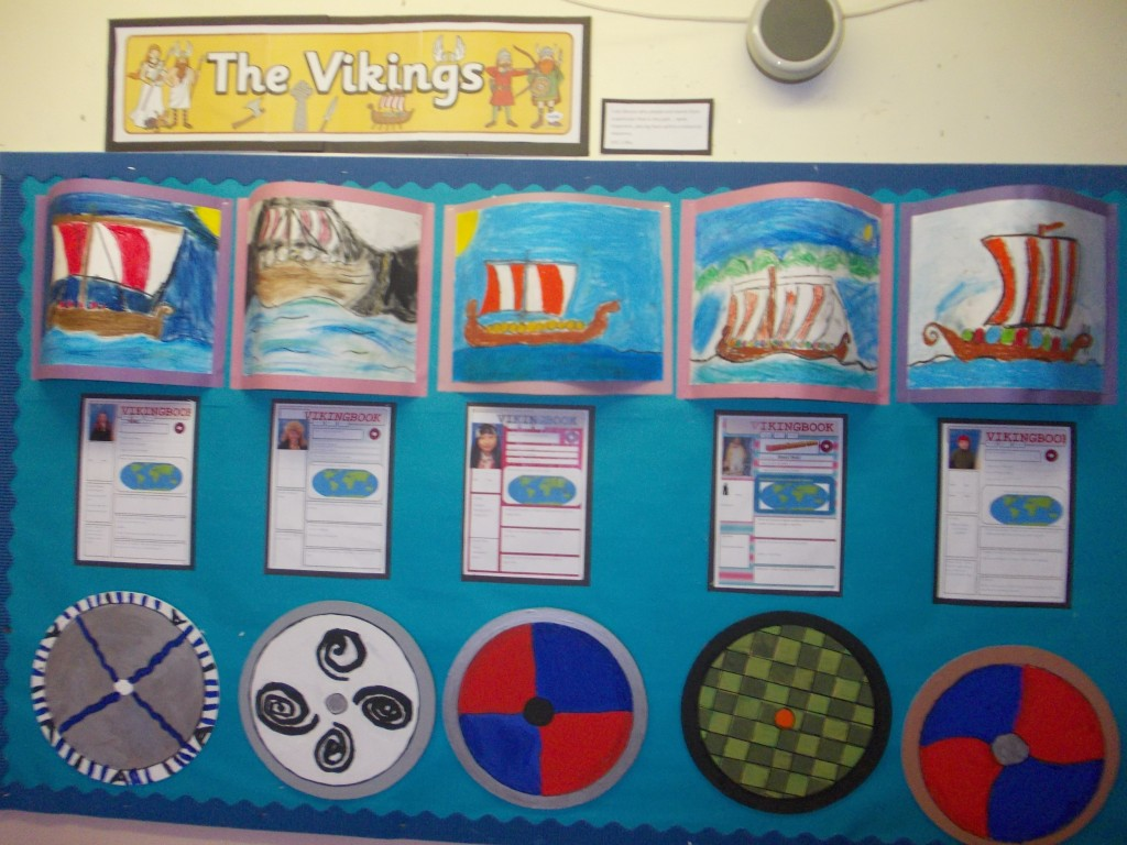 Vikings Topic P5 Dunoon Primary