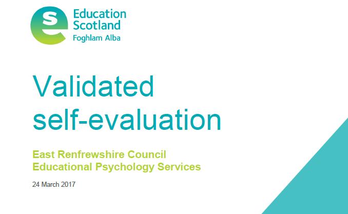 Validated Self Evaluation 2017 | East Renfrewshire Educational ...
