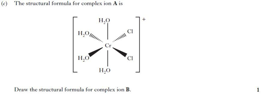 Exercise 1_3A Transition Metals