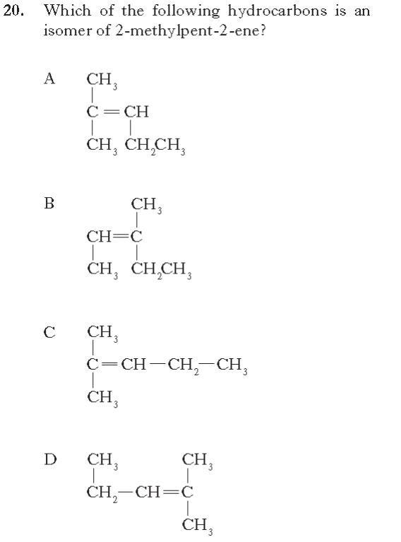 Higher Chemistry Unit 2 » Carbon Compounds – Naming