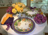 Decorating with Botanicals: Anna Weatherley Handpainted ...
