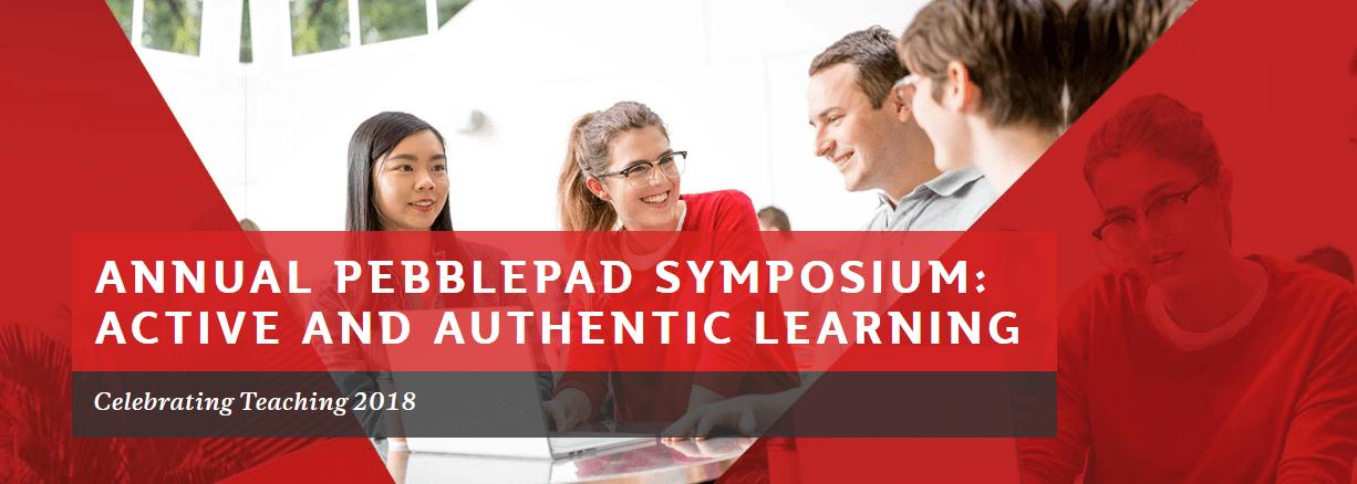 PebblePad Symposium 2018