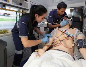 Ambulance simulation