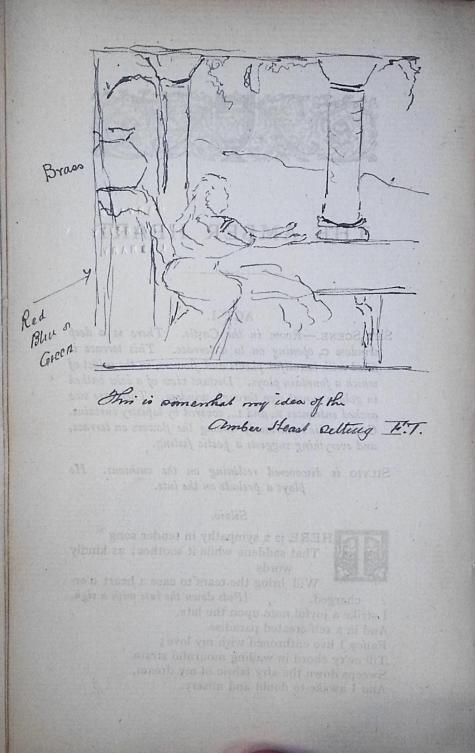 Ellen Terry's sketch