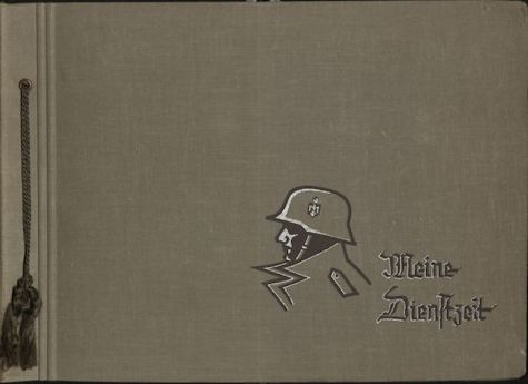 cover of German officer's photo album.