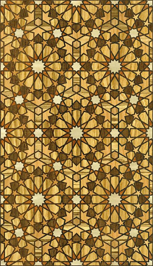 qarawiyyin-mosque-geometric-pattern-1-wood-hakon-soreide
