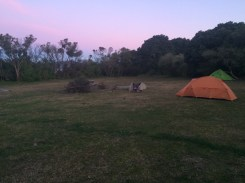 Our camp on Saturday night...