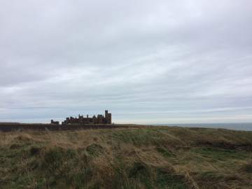 The castle from a distance