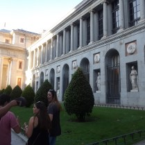 The national Prado Museum in Madrid.
