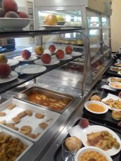Carols III University has a wide selection of foods to choose from in its dining halls.