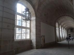 A look at the old interior halls El Escorial.