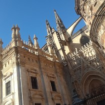 A cathedral near the tower of Seville.