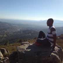 Enjoying a picturesque view of Cercedilla and its nearby areas from atop a mountain.