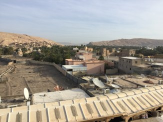 View of Ibri from the roof of the school.
