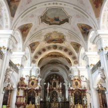 This is the baroque church of St. Peter in the Black Forest.