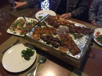 Turkish grill at another restaurant
