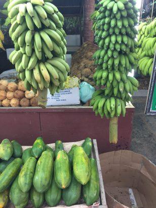 Fruit stand in Salalah