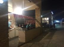 Camel meat shop in Salalah