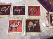 Camel squares create a caravan on the shop floor