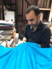 Repairing a pashmina