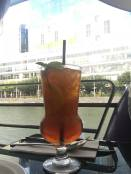 Iced lemon tea, yum...