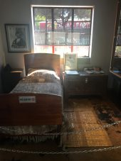 Mandela's bedroom