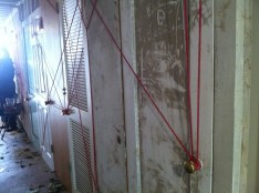 This red string represent all those who have been sex trafficked.