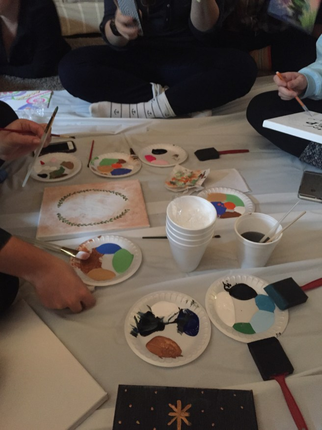 Delight painting party!