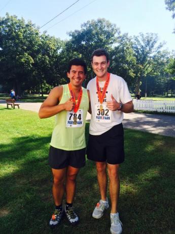 We did it, our first half-marathon!