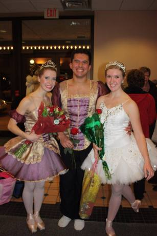 Here are my lovely ballet partners!