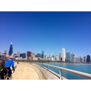 The weather was perfect! Not too hot, not too cold, and just sunny enough for a great skyline pic.