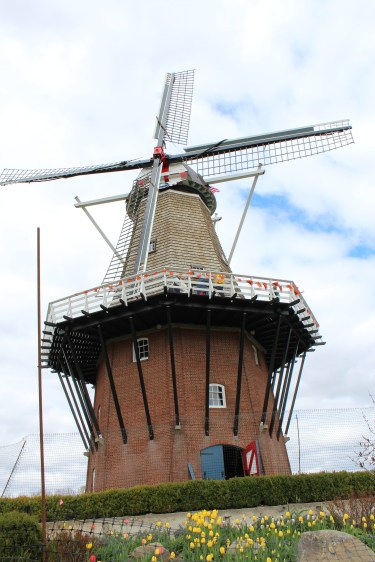 Close up of the windmill
