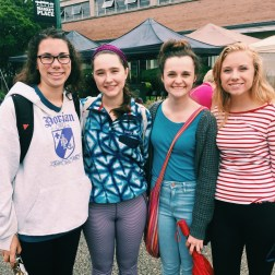 On Saturday my friends and I went to the farmer's market in downtown Holland!