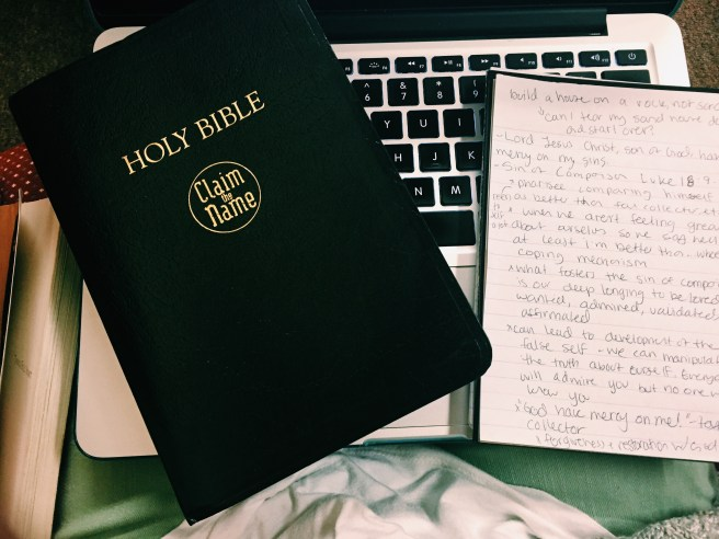 My bible and bible journal :)