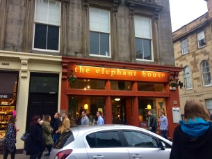 This is the cafe where J.K. Rowling wrote many of the Harry Potter books - table 12 if we're going to be technical. They also have the best shortbread I've ever eaten.