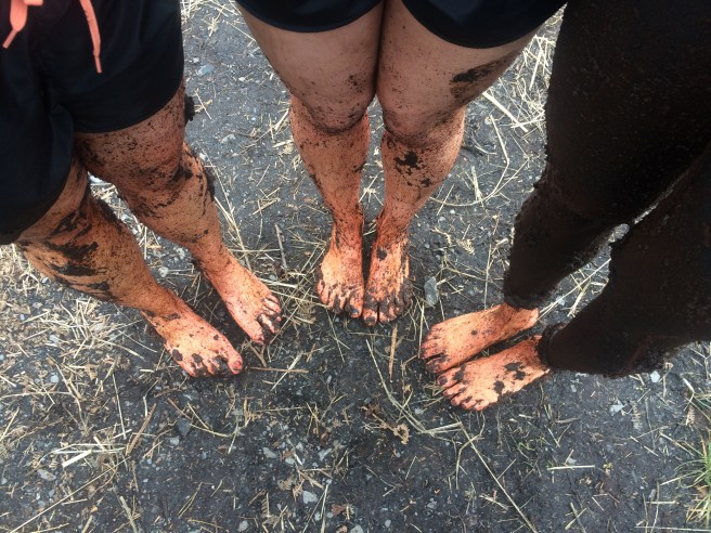 Yes, it was very dirty. It was also very cold!