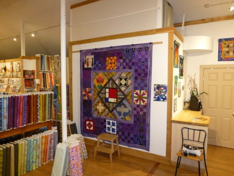 """The """"Montana Men Quilt,"""" a collaboration of 15 male quilters from Montana."""